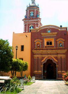 Santa Maria Tonanzintla, Puebla, Mexico