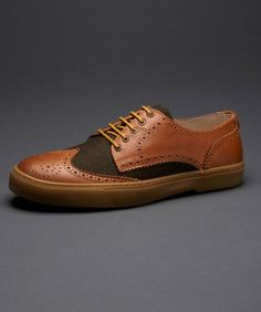 Fred Perry - Donegan Leather & Wool Shoe