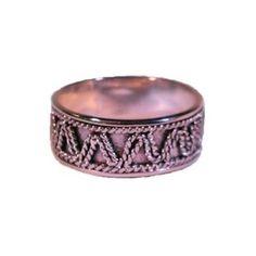 Zilveren ring uit Bali. Handgemaakt en fair trade
