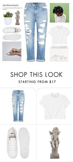 """""""Untitled #248"""" by nymphetdream ❤ liked on Polyvore featuring Muji, Genetic Denim, Monki, ASOS, Universal Lighting and Decor, set, jeans, Minimalist and organized"""