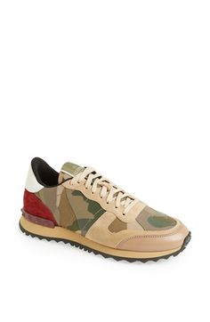 Valentino Camouflage Sneakers