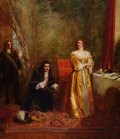 William Powell Frith, Charles II and Lady Castlemaine, 1899
