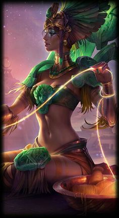League of Legends- Sun Goddess Karma