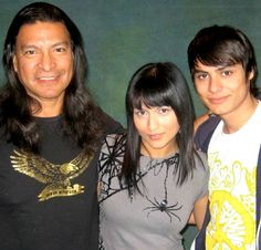 Gil Birmingham, Tinsel Korey and Kiowa Gordon, 2009