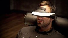 Sony Personal 3D Viewer - The Sony 'Personal 3D Viewer'—nomenclature-ized the HMZ-T1—is a 'Head-Mounted Display' (HMD) that sports a compact 3D/HD-capable, OLED display screen for-your-eyes-only. The wearer can soak in HD or HD AND 3D (far out, dude!) movies or play video games in glorious 720p resolution.