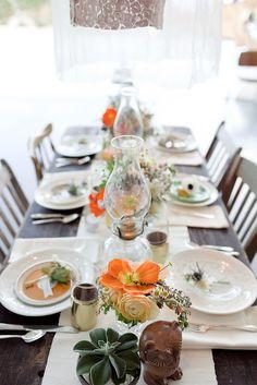 TABLE SETTING @O.B. Wellness Saffron