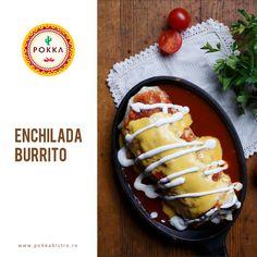 Ce poate fi mai bun decât un #burrito?  #EnchiladaBurrito desigur! #goodfood #goodmood #POKKA #cluj