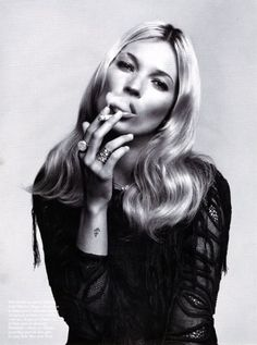 Kate Moss is 40 & Legendary!!