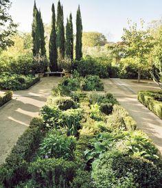 Cassandra Huysentruyt's home. Gardens by Miranda Brooks; architecture Howard Backen