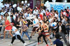In this photo, young people in Bangkok took part in a flash mob to raise awareness about World Humanitarian Day.  See some more photos taken by UN staff serving in Afghanistan, Libya, Nicaragua, South Sudan, Syria and more here: http://j.mp/1aFQCc0