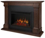 Real Flame - Callaway Electric Fireplace - Chestnut Oak