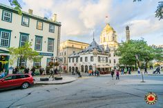 The streets of Old Quebec.