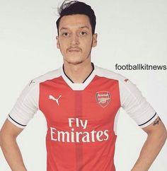 New Arsenal Kit Arsenal Home Shirt Puma Arsenal Kit, Football Kits, Soccer Shirts, Premier League, Polo Shirt, Polo Ralph Lauren, Sports, Mens Tops, Fashion