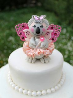 Baby shower cake topper baby shower decorations for a girl baby