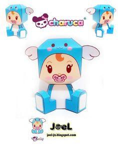 JoeL ~ J2: Mozzarella Moofia - Tokidoki & Baby - Charuca ~ Funky Animal Papertoys comin' to town