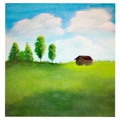 My Arts, Landscape, Painting, Scenery, Painting Art, Paintings, Painted Canvas, Corner Landscaping, Drawings