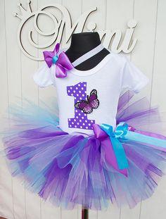 Purple blue Butterfly tutu birthday tutu outfit Birthday tutu outfit Birthday Tutu Set baby tutu from Europe Baby Birthday Cakes, Birthday Tutu, 1st Birthday Parties, Diy Tutu Skirt, Crochet Tutu Dress, Christmas Tutu Dress, Tutu Outfits, Tutu Dresses, Purple Birthday
