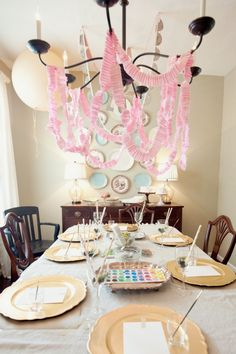 Love the crepe paper for decoration.  Perfect to use my ruffle foot (if i get one!)