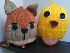 Made to order Fox or Chick hat. £10.00