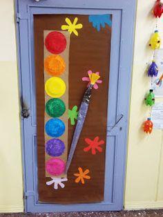Έλα να παίξουμε...στο Νηπιαγωγείο!!!: Έντομα και διακόσμηση πόρτας Diy And Crafts, Nursery, Frame, Blog, Ideas, Home Decor, Day Care, Decoration Home, Frames