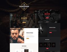 Impressive design with its engaging contents will make your website a real standout amongst barbershops and tattoo salons. Berger was created to serve as hairdresser's portfolio, blog on barberging/hairdressing, hair salon's or beauty shop's website.