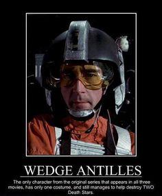 Unsung Hero of Star Wars - Wedge Antilles