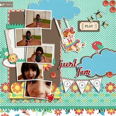 Scrapbook - Just For Fun: 05/04/2011 | Credits: All from new… | Flickr