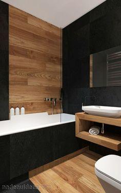 """Résultat de recherche d'images pour """"salle de bain sol noir"""""""