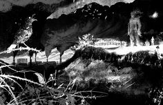 a monster calls Jim Kay black and white