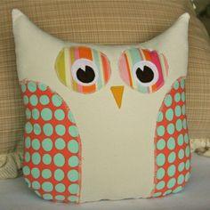 Cute owl pillow pattern $6