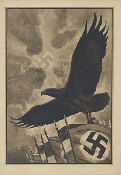 The United States and it's Allies were not the only countries to use advertisement and propaganda in order to persuade people. The Nazi party and Axis of powers used propaganda as well.