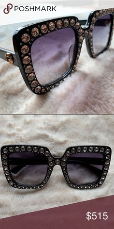 e30713cffc7 Shop Women s Gucci Black size OS Sunglasses at a discounted price at  Poshmark.