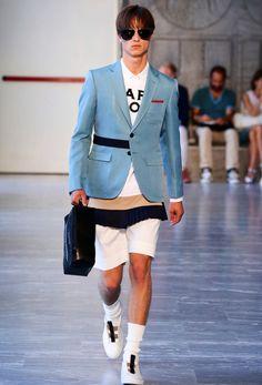 Andrea Pompilio menswear spring/summer 2015