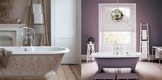 #feature #bath #patterned #coloured