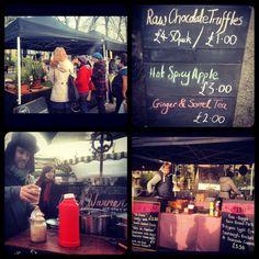 Lots of yummy options! Brockley Market