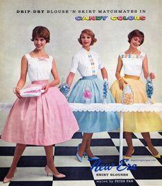New Era styles by Peter Pan 1959