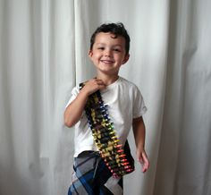 crayon ammo belt for kids- for Cole.