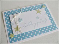 besondere karte zur taufe / mädchen | cards, babies and baby cards, Einladung