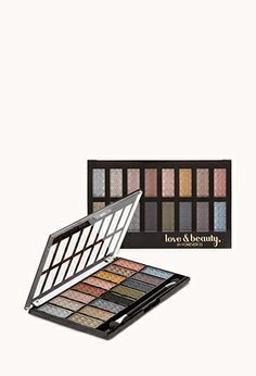 16 Shade Shimmery Shadow Palette   FOREVER21 - 1031868757