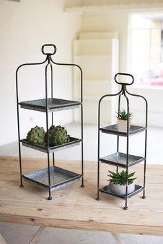 Tabletop and Shelf Decor Industrial Primitive Set Of 3 Burnt Iron Metal Orbs
