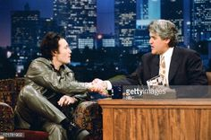 Rare The Tonight Show with Jay Leno appearance 1995 (Adam Ant) Lady Vivienne (@AntsPeople) | Twitter