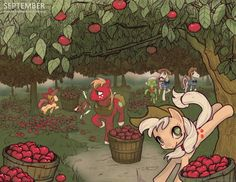 Brony Thank You Calendar - September by hinoraito.deviantart.com