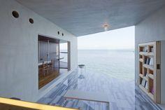 architecture, seaside, ocean view