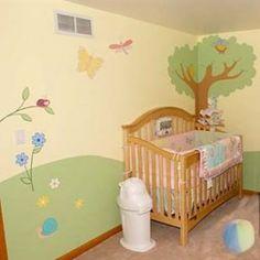 Opciones de decoración para el cuarto de tu bebé.  www.estiloydeco.com