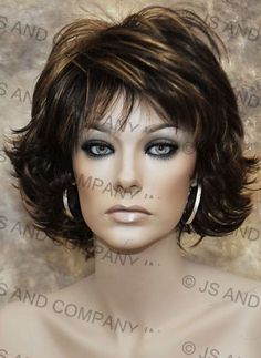 Modern and Cute Synthetic Short Wig - The Wig Company