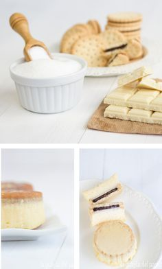 Pastel de galletas y moka - Pecados de Reposteria
