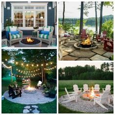 All Time Best Tips: Fire Pit Wedding Yards fire pit cover dreams.Rectangular Fire Pit Home stone fire pit seating. Fire Pit Yard, Outside Fire Pits, Diy Fire Pit, Fire Pit Backyard, Home Design, Yard Design, Fence Design, Outdoor Fire, Outdoor Living