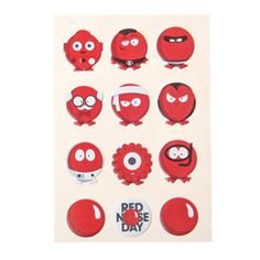 craft red nose day - Google Search