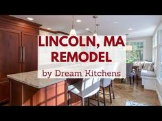 Lincoln, MA Remodel Cherry Wood Cabinets, Wood Kitchen Cabinets, Storage Drawers, Lincoln, Kitchen Remodel, Kitchens, Home Decor, Wooden Kitchen Cabinets, Decoration Home