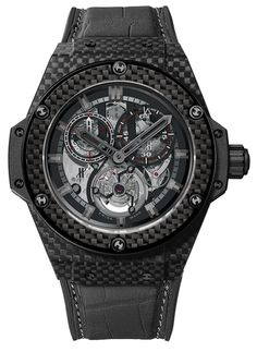 Go Big or Go Home: The Hublot King Power Répétition Minutes Tourbillon Chronograph